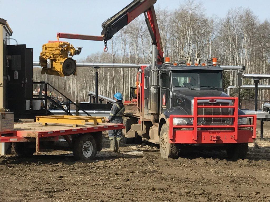 picker trucks reverse jib
