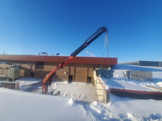 LSM Rooftop Unit Install, Grande Prairie